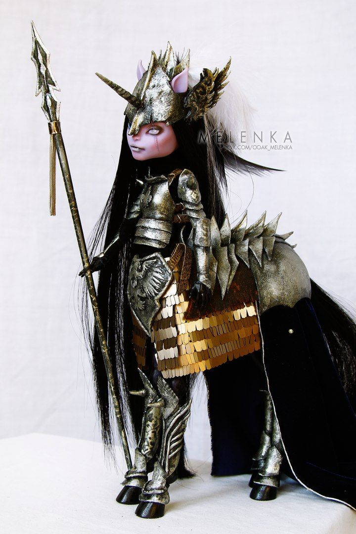 Read at : craftsome.blogspot.jp ooak Monster High centaur