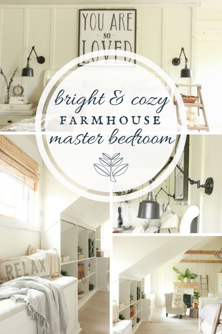 The Ultimate Farmhouse Master Bedroom | ORC Reveal