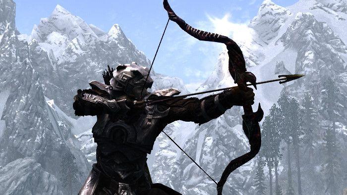 Skyrim Bow and Arrow | Skyrim Realistic Archery - Bows - Arrows - Crossbows ...