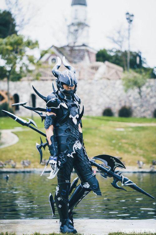 [Self] Final Fantasy XIV - Dragoon. Hope you guys like! vin10doh