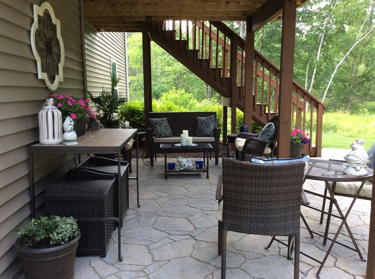 Magnificent patio under deck design ideas patio design 207 for Decorate small patio area