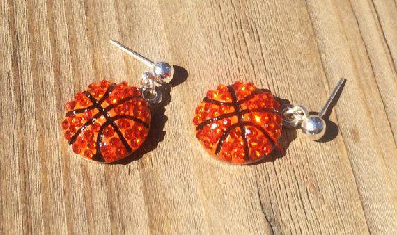 Niedliche Basketball Ohrringe sind das perfekte Geschenk für alle Basketball Chicas! …   – basketball