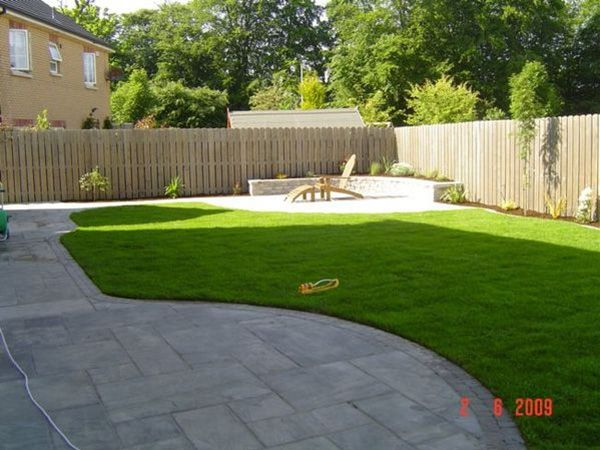 Save your money with the cheap landscaping ideas for small Cheap back garden ideas