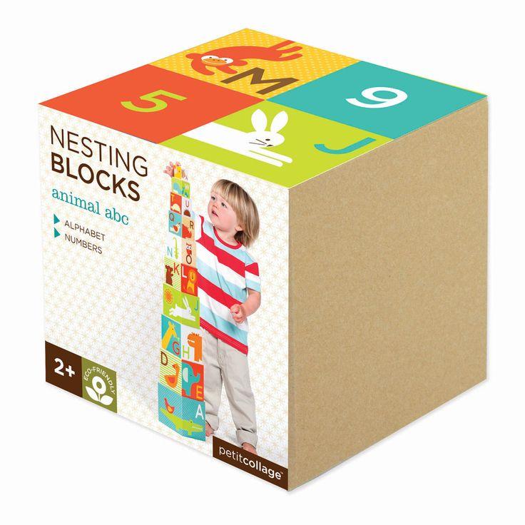Nesting Blocks - Animal ABC