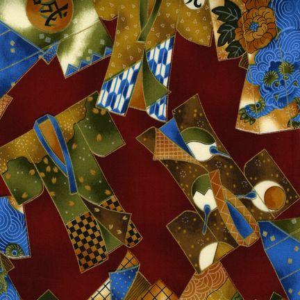 Robert Kaufman - Oriental Traditions 5 EZKM-7160-200 VINTAGE