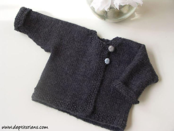 modèle tricot bébé facile et gratuit