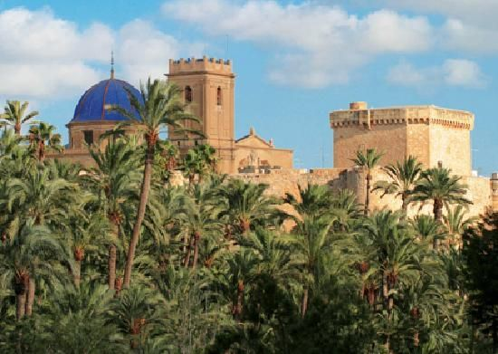 Elche( Alicante)  Is on the Mediterranean Costa Blanca( White coast) Is a very famous area because its excellent good weather and incredible beaches( wich strech for miles along the mediterranean coast)  This charming village of Elche is best known as the excavation site of one of the premier sculptures of the Roman Empire in Iberia, La Dama de Elche.  In Elche there were Iberian,Phoenician and Greek Setlements. The Romans also founded a Colony in Elche.