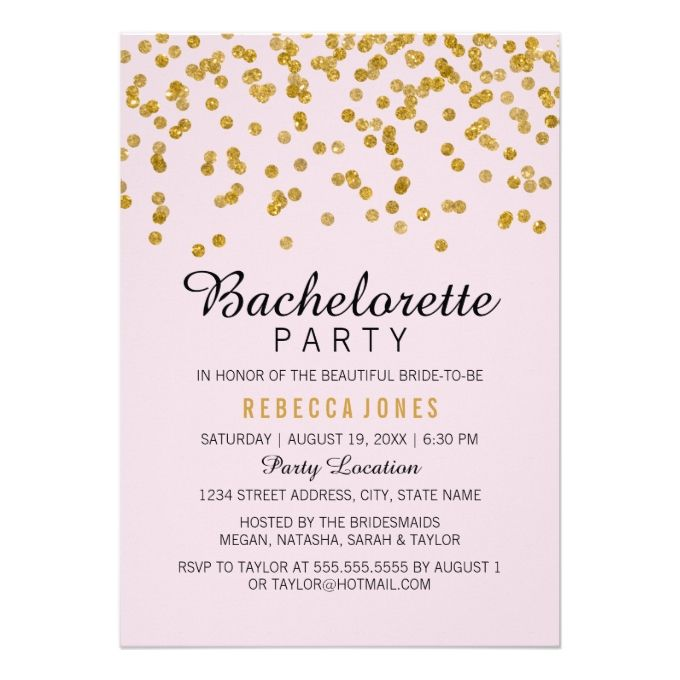 2391 best Bachelorette Party Invitations images on Pinterest - bachelorette invitation template