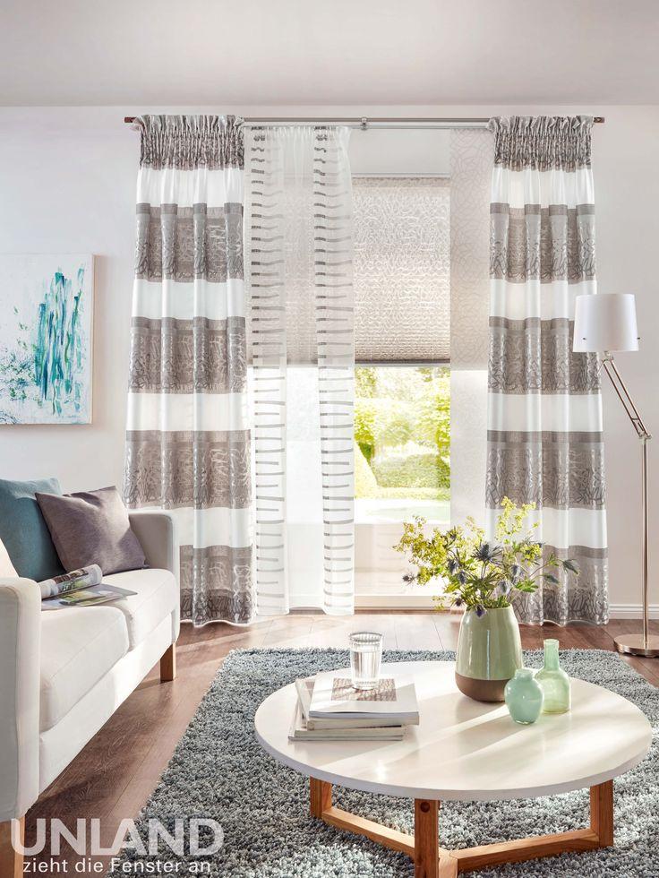 Elegant Unland CASA Vorhang Fensterideen Gardinen und Sonnenschutz curtains contract fabrics