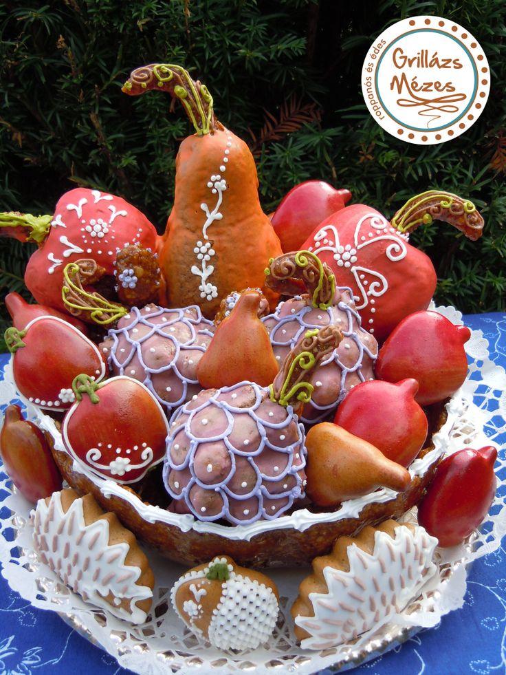 Őszi gyümölcskosár