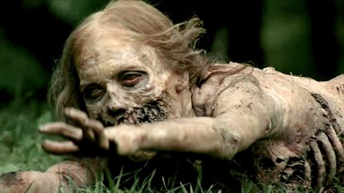 No zombie is more iconic than Bicycle Girl Zombie from season one of The Walking Dead.