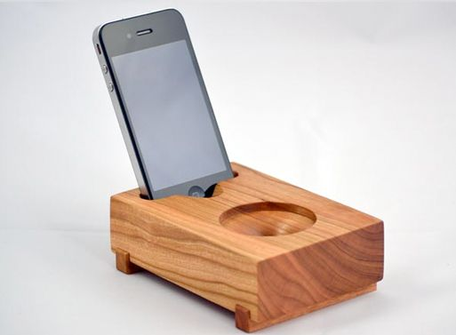 Koostik Mini Koo iPhone Speaker $70 Completely Acoustic; no electricity required