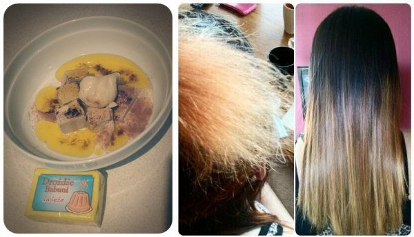 SUPER MASKA!!! Włosy są po niej są miękkie ,odżywione ,lśniące i rosną jak szalone :)