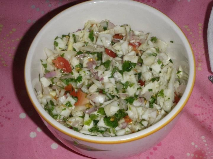 Mexican Cabbage Salsa... by The Deedol Collection... http://grannysfavorites.wordpress.com/2014/06/05/mexican-cabbage-salsa/