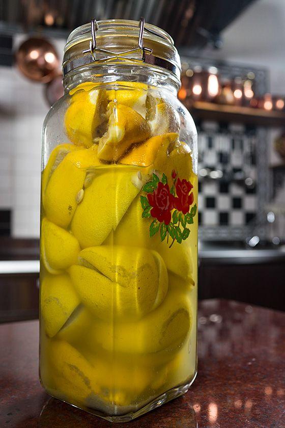 Маринованые соленые лимоны