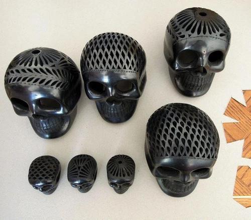 Skulls of barro Negro