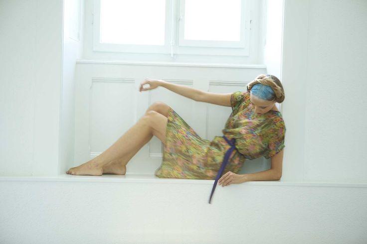 Lee Miller / robe soie Liberty