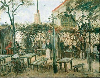 Les rues de Paris | rue Van-Gogh | 12�me arrondissement Van Gogh - Paris 1886 Café Montmartre