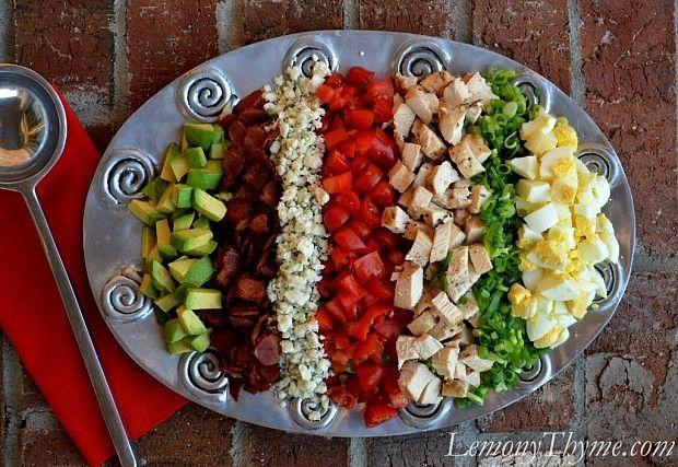 The Classic Cobb Salad | Favorite Foods | Pinterest