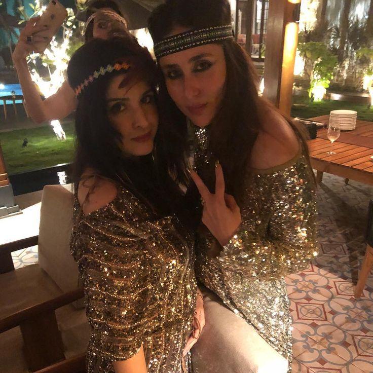 Kareena Kapoor, Saif Ali Khan, Karisma Return To Mumbai After Amrita Arora's Birthday Party In Goa. See Pics At Airport