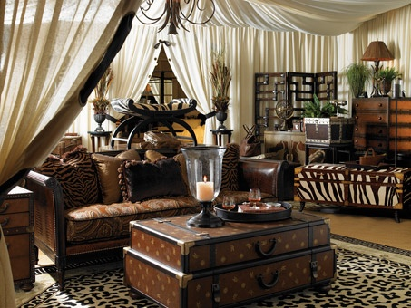 519 best images about british colonial style on pinterest for Safari decorating ideas for living room
