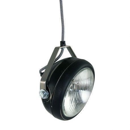 Industrie-Hängeleuchte Starlight Schwarz