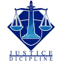 A logo for a justice community at campus, it's created using Adobe Illustrator #adobeillustrator #logo