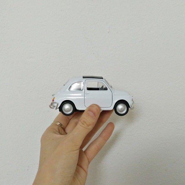 Miniature Fiat 500 - vintage car