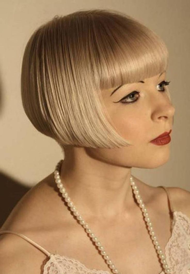 Flapper Hairstyles For Short Hair