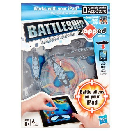Hasbro Battleship Movie Edition Zapped Edition Battleship Toy 1 Player Ages 8+