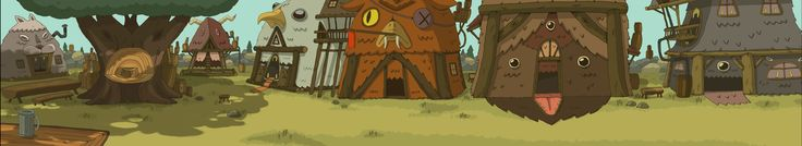 ADVENTURE TIME: FAVORITE BACKGROUNDS OF SEASON 1
