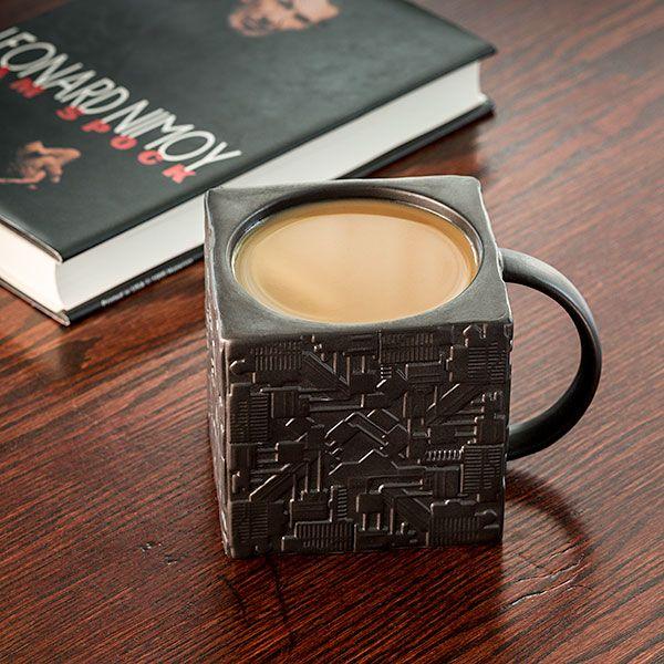 Star Trek Borg Cube Mug Assimilates Your Drinks For Consumption -  #borg #coffee #startrek