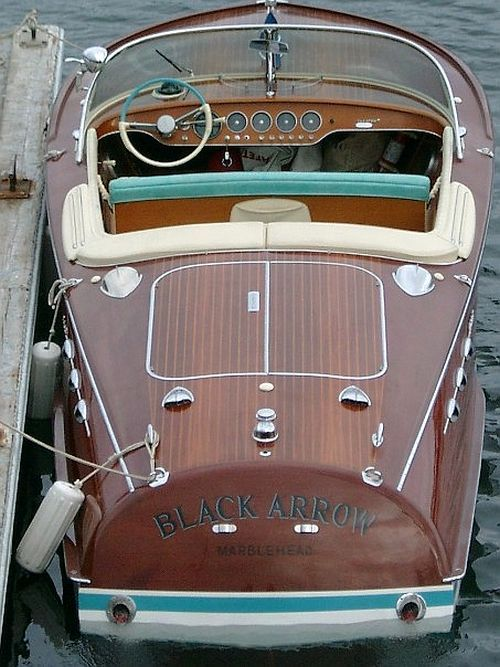 Classic Antique Wooden Boat