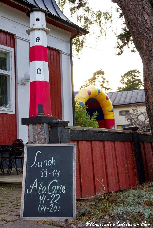 Nauvo - the crown jewel of Finnish archipelago. Parainen. Finland.