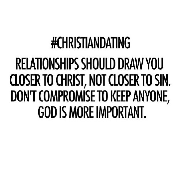 truth. The one who seeks to pull you into sin is not from God. If he leaves you because you choose to honor God, he was never meant for you. You can rest knowing you didn't miss out on anyone worthy of your heart, your mind, your body, or your beautiful soul.