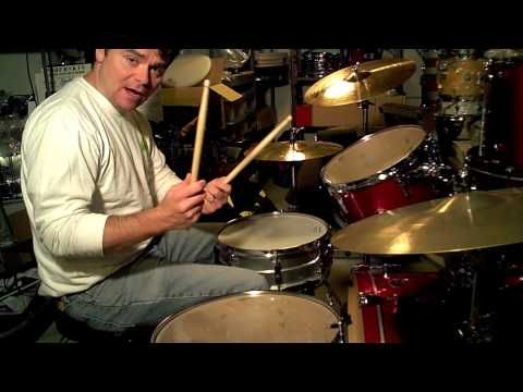 JOHN BONHAM DRUM TRIPLETS Drum Lesson - YouTube