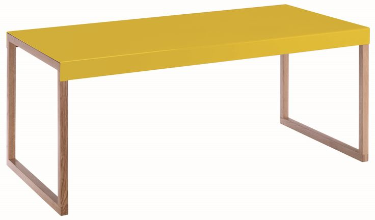 Kilo bord. Fåes i flere farger. Dimensjoner: D42 x H35 x L84 cm. Kr. 460,-