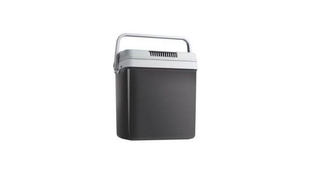 Tristar KB-7526 Thermo-Elektrische Koelbox 12/230V 24L  Lichtgewicht A koelbox handig om mee te nemen naar de camping of het strand. Met deze 24 liter koelbox heeft u meer dan voldoende ruimte en kunt u niet alleen koelen maar tevens ook verwarmen. Aan te sluiten op zowel 12V en 230V.  Inhoud: ca. 24 L  Koelt onder omgevingstemperatuur: 18 Celsius  Verwarmt tot maximaal: 65 Celsius  Thermo-elektrisch  Energieklasse: A  Voltage: 12/230 Volt  Afneembaar deksel  Deksel met vergrendeling…