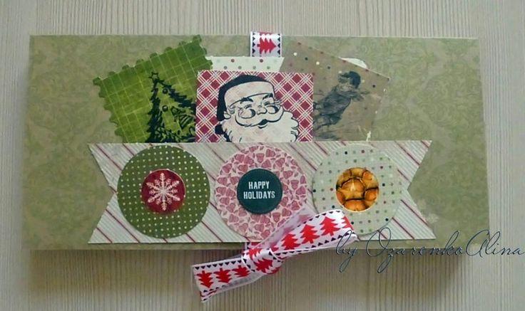 New Year greeting card/Новогодняя открытка-шоколадница