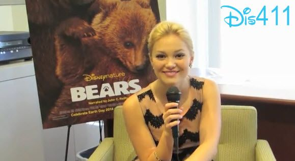 Video: Olivia Holt Does An Impression Of Austin North