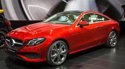 2018 Mercedes-Benz E-class Coupe Design