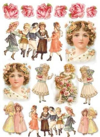 Vásárlás: Rizspapír, vintage gyerekek DFSA4012 Papíráru kreatív hobbihoz árak összehasonlítása, Rizspapír vintage gyerekek DFSA 4012 boltok
