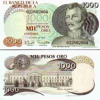 Moneda de Colombia