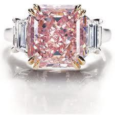 Rare Pink-Diamond Engagement Ring from Harry Winston