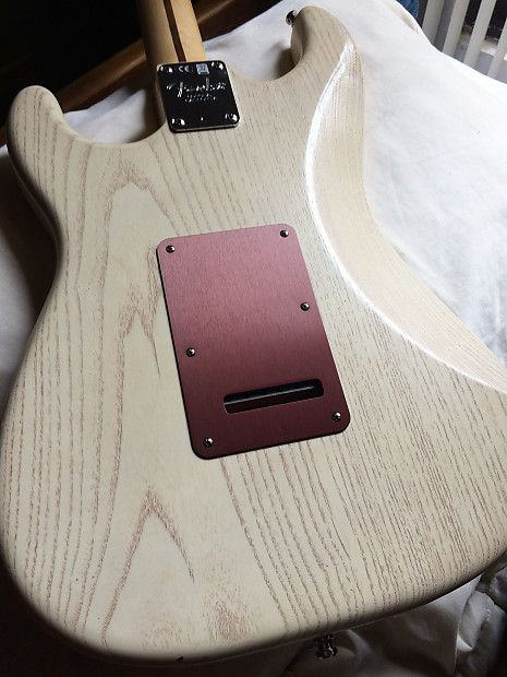 """Fender American Standard Stratocaster """"rustic ash"""" Lacquer   Reverb"""