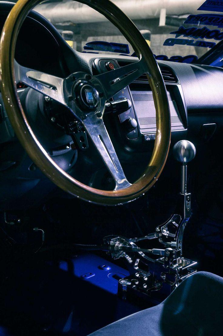 1999 honda civic si nardi wood grain steering wheel