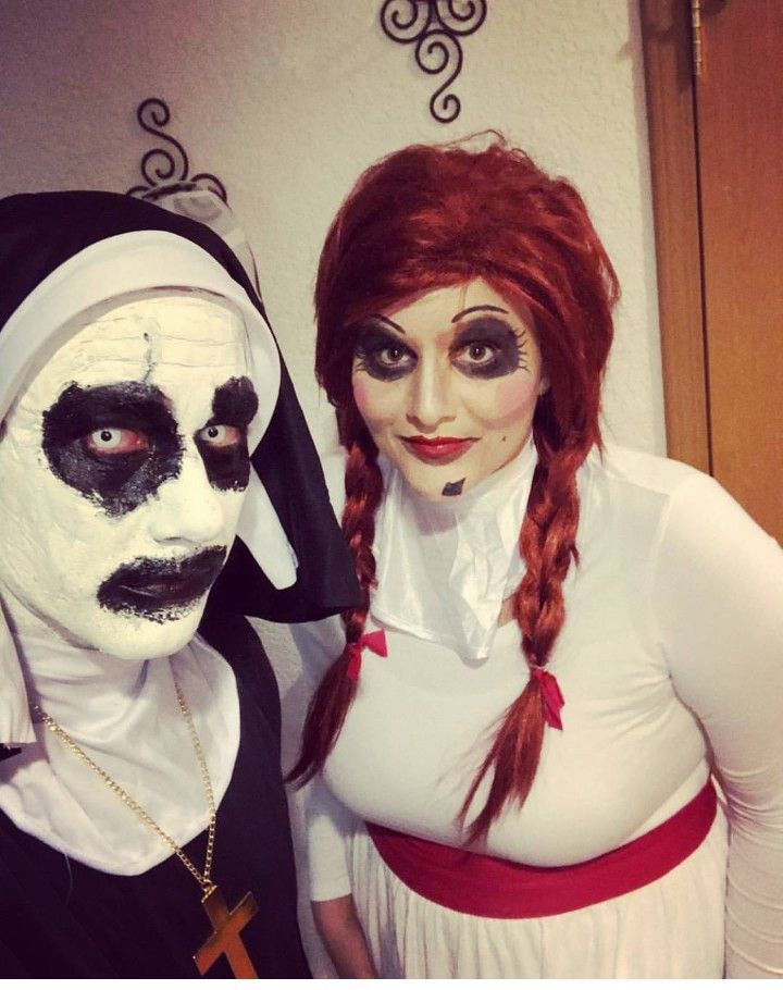 Annabelle And Valak Costume