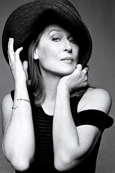 I have so much respect for Meryl Streep. She is exactly the kind of woman I want to be when I'm older