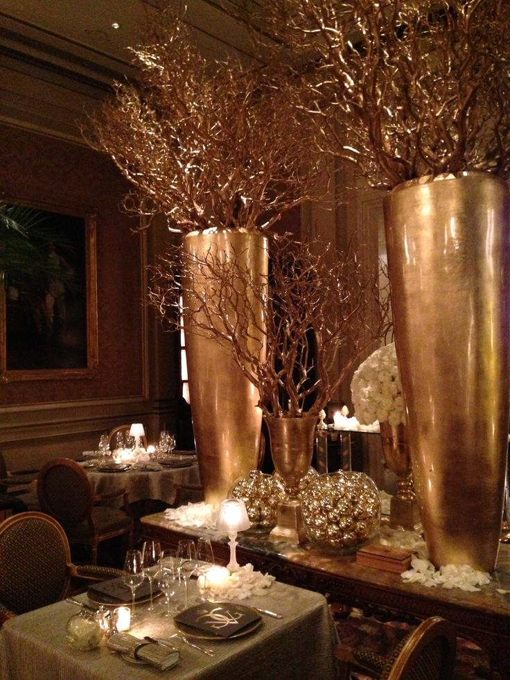 New Year's Eve 2013 @Four Seasons Hotel George V Paris in fine dining restaurant Le Cinq