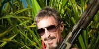"Murder Suspect John McAfee: I'm Innocent  As Belizean police combed the property of expat antivirus pioneer John McAfee Sunday afternoon, McAfee was closer than they could have known. He'd seen them coming, and says he hid — burying himself in the sand with a cardboard box over his head so he could breathe. ""It was extraordinarily uncomfortable,"" he says, in an exclusive interview with Wired. ""But they will kill me if they find me."""